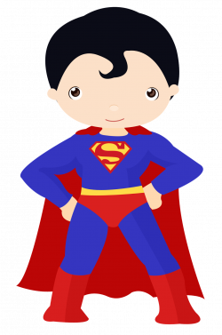 superheroes-kids-clipart-101.png (1061×1600) | niver Heitor 3 Anos ...