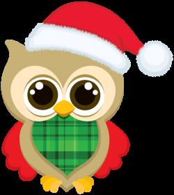 CHRISTMAS OWL CLIP ART | Bellas imágenes | Pinterest | Owl clip art ...