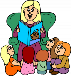 Teacher Reading To Class | Clipart Panda - Free Clipart Images