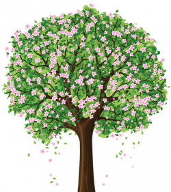 Spring Tree PNG Clipart | Crafting (Trees) | Pinterest | Spring tree ...