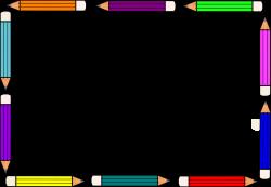 pencil border clip art free dd22a6c7fd8a397846043b4ee7080f9b - Clip ...