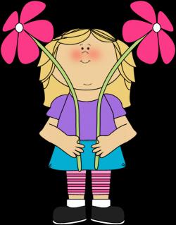 Flower Girl Clip Art - Flower Girl Image | School, School Clip Art ...