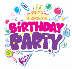 Birthday Party PNG Clipart Picture | bday party | Pinterest | Birthdays