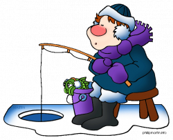Food Clip Art by Phillip Martin, Ice Fishing