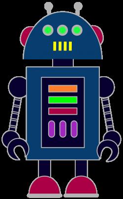 Free robot clip art for classrooms, teachers and parents. | Escuela ...