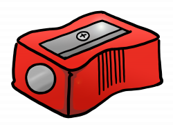 28+ Collection of Electric Pencil Sharpener Clipart | High quality ...