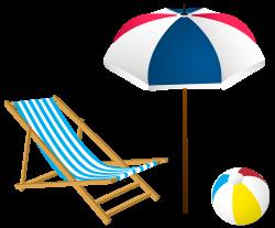 Beach Summer Set PNG Clip-Art Image   Summer   Pinterest   Summer ...