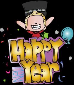 Melonheadz Illustrating Happy New Year Freebie!!!! | Clipart ...
