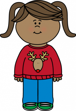 Free Christmas Sweater clip art from mycutegraphics.com | Dibujos ...