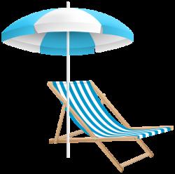 Beach Chair and Umbrella PNG Clip Art Transparent Image ...