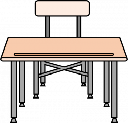 28+ Collection of Empty School Desk Clipart | High quality, free ...