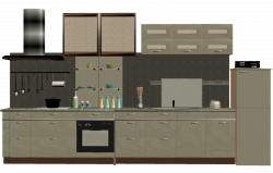 Modern Kitchen Clipart - Kitchen Ideas