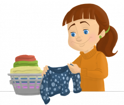 Folded Laundry Clipart | Ero Electronic | Cleaning Clipart ...
