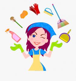 Cleaner Housekeeping House Clean Helper Transprent ...