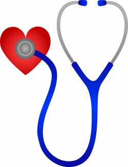 Blue Stethoscope and Red Heart | Dr.❤ | Pinterest | Stethoscope ...