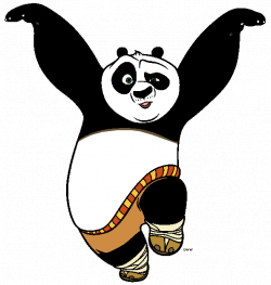 Kung Fu Panda Clip Art   Cartoon Clip Art