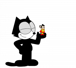 Felix with Mighty Mouse by ElMarcosLuckydel96 on DeviantArt ...