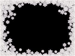 Snowflakes border frame PNG Snowflake Border | Frame It | Pinterest ...