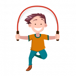 Children Jumping Rope, People, Kids, Hand PNG and Vector for Free ...