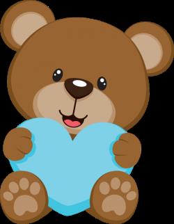 baby shower bear - Pesquisa Google   Build A Bear Gift Ideas ...