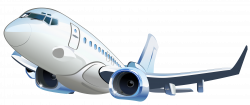 Airplane Transparent Vector Clipart | Gallery Yopriceville - High ...