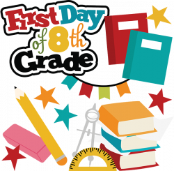 First Day Of 8th Grade SVG school svg files for scrapbooking free ...