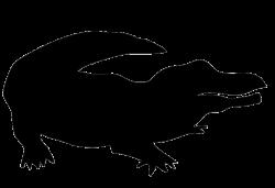 Crocodile Head Silhouette   Clipart Panda - Free Clipart Images