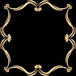 Gold Border PNG Clip Art Image | ClipArt | Pinterest | Clip art ...