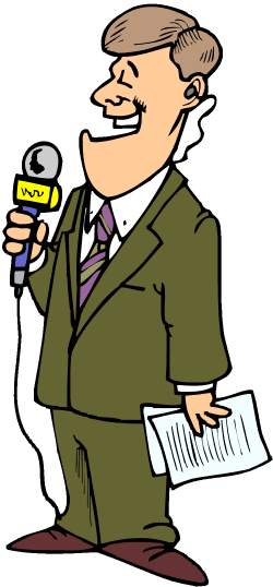 28+ Collection of Kid News Reporter Clipart | High quality, free ...