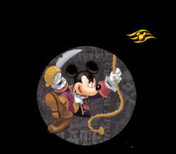 pirate mickey w logo | DC - Fish Extender, Gift Ideas, & Door Decor ...