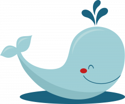 Cartoon whale clip art free vector in open office drawing svg | Art ...