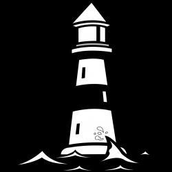 lighthouse-vector-clip-art-plottervorlagen-pinterest-of-malvorlagen ...