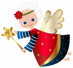 Cute Christmas Angel Transparent PNG Clip Art Image | Клипарты ...