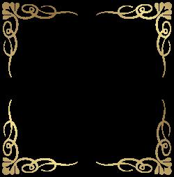 Transparent Decorative Frame Border PNG Image | Gallery ...
