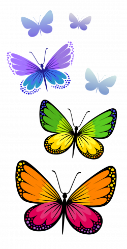 Butterflies Composition PNG Clipart Image | Tattoos that I love ...