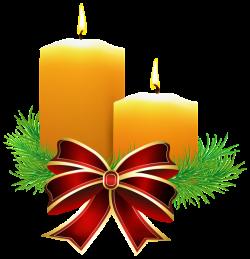 Christmas Candles Transparent PNG Clip Art Image | CHRISTMAS THEME ...