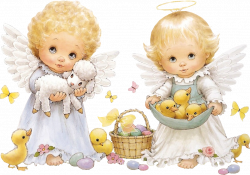 Cute Easter Angels Clipart | ✍✄Printables✄✍ | Pinterest | Easter ...
