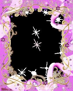 frame pink baw and swirls png by Melissa-tm on DeviantArt | frames ...