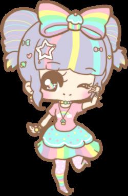 Cute & Kawaii Rainbow Girl by Cheshirepanda. Did you know that kawii ...