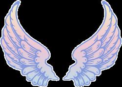 wings angel angelwings rainbow freetoedit...