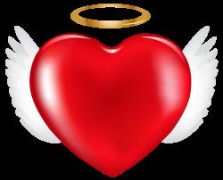 Angel Heart PNG Clip Art Image | Hearty | Pinterest | Angel heart ...