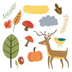 Free-cute-animal-autumn-clipart-fptfy-2.png 4,500×4,500 pixels ...