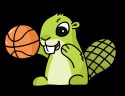 Animals Playing Basketball Clipart 36436 | USBDATA