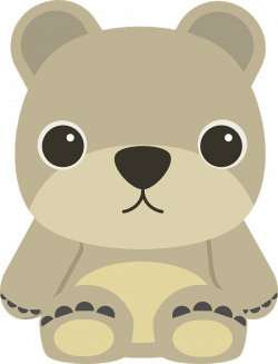 Free Image on Pixabay - Animal, Bear, Cartoon, Children | Pinterest ...