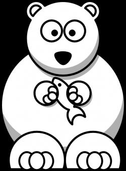 Clip Art: bear black white | Clipart Panda - Free Clipart Images