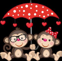 CH B *✿*St-Valentin | Kobiety | Pinterest | Monkey, Clip art and ...