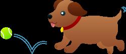 Puppy Playing Fetch | clip art & Digi Stamps | Pinterest | Digi ...