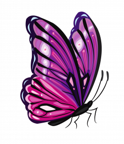Purple Butterfly PNG Clipart Picture | Crafts for Clara | Pinterest ...