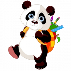 Panda Bears Cartoon Animal Images Free To Download.All Bears Clip ...