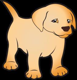 clip art of animals | Puppy Labrador ( Full Color) | equine ...